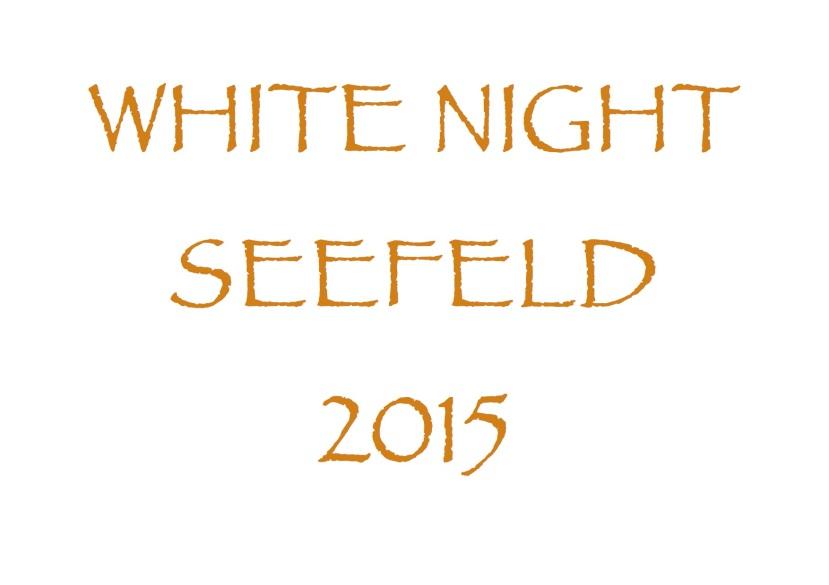 Homepage text White night