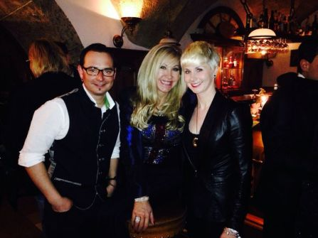 """with reality TV star Carmen Geiss from """"The Geissens"""". Jan 2014"""
