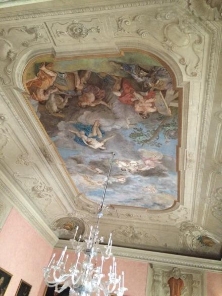 Amazing frescos inside the Palazzo