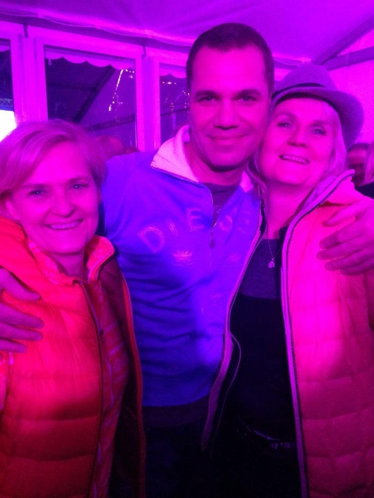 Benjamin's Mama, Aunt and Dave Kaufmann!