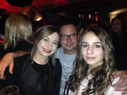 Anna, Benjamin and his daughter Annie!