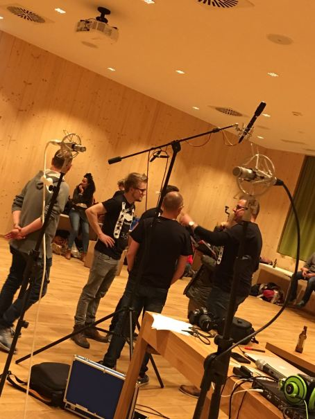 Studio Choir Work, November 2016