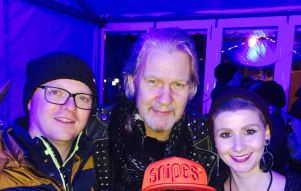 With Johnny Logan and Manu Stix, 2017